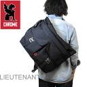 CHROME (크롬) LIEUTENANT2 (ルテナン 2) 블랙 [메신저 가방/비즈니스 가방]
