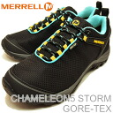 MERRELL (렐) CHAMELEON 5 STORM GORE-TEX (카멜레온 2 스톰 고 어 텍 스) BLACK (블랙)