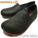MERRELL( メレル )MOOTOPIA MOC( Mu Topia mock )BLACK (black) [shoes, sneakers shoes slip-ons]