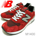 "new balance( New Balance) M1400 ""MADE IN USA"" キァンティー [shoes / sneakers shoes] [smtb-TD] [saitama]"