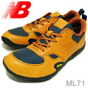 new balance( New Balance) ML71 dark orange [shoes, sneakers shoes]