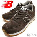 new balance( New Balance )ML574BROWN( brown) [shoes, sneakers shoes]