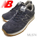 new balance( New Balance )ML574NAVY( navy) [shoes, sneakers shoes]