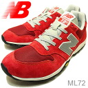 new balance( New Balance )ML72CRIMSON( crimson) [shoes, sneakers shoes raise of wages foot]