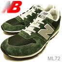 new balance( New Balance )ML72MONTAIN GREEN( mountain green) [shoes, sneakers shoes raise of wages foot]
