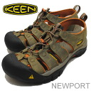 KEEN (킨) Newport (뉴포트) 표고버섯/봄 브라운 [신발/샌들/신발]