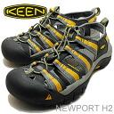 KEEN (킨) Newport H2 (뉴포트 H2) 다크 섀도 스트라이프 [신발/샌들/신발]