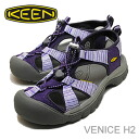 ■Point 10 times ■ KEEN( Kean) Venice H2( Venice H2) purple heart bar [shoes, sandals sneakers] [smtb-TD] [saitama] [after0307]
