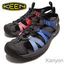 KEEN (킨) Kanyon (캐년) 블루/레드 그라데이션 [신발/샌들/신발]