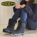 KEEN Sunriver High Boot Black/Black