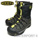KEEN (keen) WinterportII (winter port II) Black Neon (neon black)