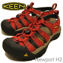 KEEN (킨) Newport H2 (뉴포트 H2) Burnt Henna/Dark Shadow (バーントヘナ/다크 섀도)