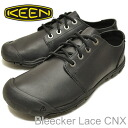 KEEN( Kean) Bleecker Lace CNX( bully car racing CNX) Black( black) [shoes, sneakers shoes] [smtb-TD] [saitama] [RCP]