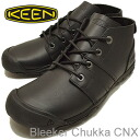 KEEN( Kean) Bleecker Chukka CNX( ブリーカーチャッカ CNX) Black( black) [shoes, sneakers shoes] [smtb-TD] [saitama] [RCP]
