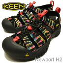 KEEN (킨) Newport H2 (뉴포트 H2) DEAD DYE 2 (반 다이 2) [구두/샌들/신발]