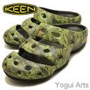 KEEN (킨) 남성 Yogui Arts (요기 아츠) 오리 그린 (1002034)