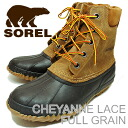 SOREL( Sorrel) CHEYANNE LACE FULL GRAIN( Cheyenne race full grain) chipmunk / black [shoes, winter boots shoes] [smtb-td]