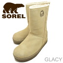 SOREL GLACY British Tan/Saddle
