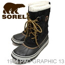 SOREL 1964 PAC GRAPHIC 13 Black/Cafe