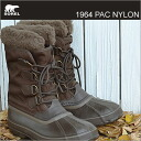 SOREL 1964 PAC NYLON cordovan