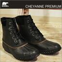 (Sorell) SOREL CHEYANNE LACE FULL GRAIN (Cheyenne lace full-grain) BLACK/DARK BROWN (black/dark brown)