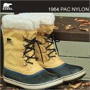 (Sorell) SOREL 1964 PAC NYLON (1964 PAC nylon) CURRY/BLACK (Curry/black) [shoes and winter boots & shoes]