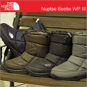 THE NORTH FACE (the north face) Nuptse Bootie WP III (nu PSI Bootie waterproof 3) [shoes, sneakers and boots, and waterproof shoes]