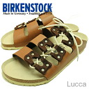 BIRKENSTOCK (Birkenstock) Lucca (Luke) light brown [shoes and sandals shoes]