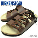 BIRKENSTOCK( ビルケンシュトック) Lucca( Luke) dark brown [shoes, sandals shoes] [smtb-td] [RCPmar4]