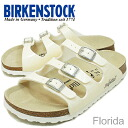 BIRKENSTOCK (Birkenstock) Frorida (FL) スパークルホワイトゴールド [shoes and sandals shoes]