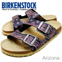 ■Point 10 times ■ BIRKENSTOCK Papillio ( ビルケンシュトックパピリオ) ARIZONA( Arizona) bandana blue [shoes, sandals shoes]