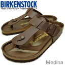 BIRKENSTOCK( ビルケンシュトック) Medina( Medina) dark brown [shoes, sandals shoes tong, clog thong] [smtb-td] [RCPfashion]