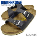 BIRKENSTOCK Nevada buffalo blue