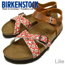 BIRKENSTOCK Birki's Lilie Minnie Flower Red