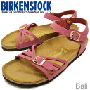 BIRKENSTOCK( ビルケンシュトック )Bali( Bali) Brick Red( brick red) [shoes, sandals shoes]