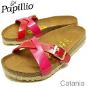 BIRKENSTOCK, Papillio (Birkenstock papirio) Catania (Catania) Lack Rose Red/Tango Red Espadrille (ラックローズレッド / タンゴレッド espadrille) fs04gm [shoes and sandals shoes Womens comfort]