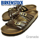 BIRKENSTOCK( ビルケンシュトック )Granada( Granada) patent brown [shoes, sandals shoes Lady's comfort]