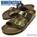 BIRKENSTOCK (Birkenstock) Sydney (Sydney) パテントブラウン [shoes and sandals shoes Womens comfort]