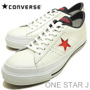 CONVERSE( Converse )ONE STAR J( one star J)WHT/RED/NVY( white / red / navy) [shoes, sneakers shoes, domestic production]