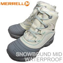 MERRELL SNOWBOUND MID WATER PROOF ivory