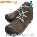 MERRELL PATHWAY MID LACE MERRELL STONE