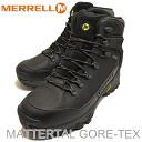 MERRELL (렐) MATTERTAL GORE-TEX (マッタータル 고 어 텍 스) BLACK (블랙) [신발/부츠/신발]