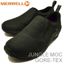 MERRELL (メレル) JUNGLE MOC GORE-TEX (jungle mock Gore-Tex) BLACK (black) [shoes, sneakers shoes slip-on] [RCP]