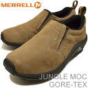 ( Merrell ) MERRELL JUNGLE MOC GORE-TEX ( jungle MOC Gore-Tex ) DARK EARTH ( dark ) [shoes & Sneakers Shoes slip on]