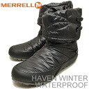MERRELL (Merrell) HAVEN WINTER WATERPROOF (waterproof Winter Haven) BLACK (black)