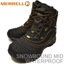 MERRELL (Merrell) SNOWBOUND MID WATER PROOF (snow-bound mid waterproof) MIDNIGHT ( midnight ) [shoes, winter boots, shoes, waterproof,