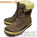 MERRELL (Merrell) WATERPROOF TREMBLANT (Tremblant waterproof) ESPRESSO (espresso) [shoes, winter boots, shoes, waterproof,