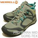 MERRELL (렐) PROTERRA MID GORE-TEX (프로 테라 미드 고 어 텍 스) CHARCOAL (숯) [신발/운동 화/신발/하이킹]
