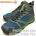 MERRELL (렐) PROTERRA MID SPORT GORE-TEX (프로 테라 미드 스포츠 고 어 텍 스) SKYLAB/GRANITE (스카이 러브/그 라 나이트) [신발/운동 화/신발/하이킹]