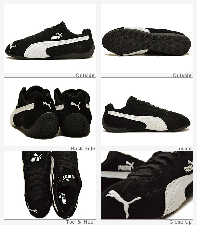 IDMOF Puma Speed Cat SD Trainers Black/White 01 | Early Intervention